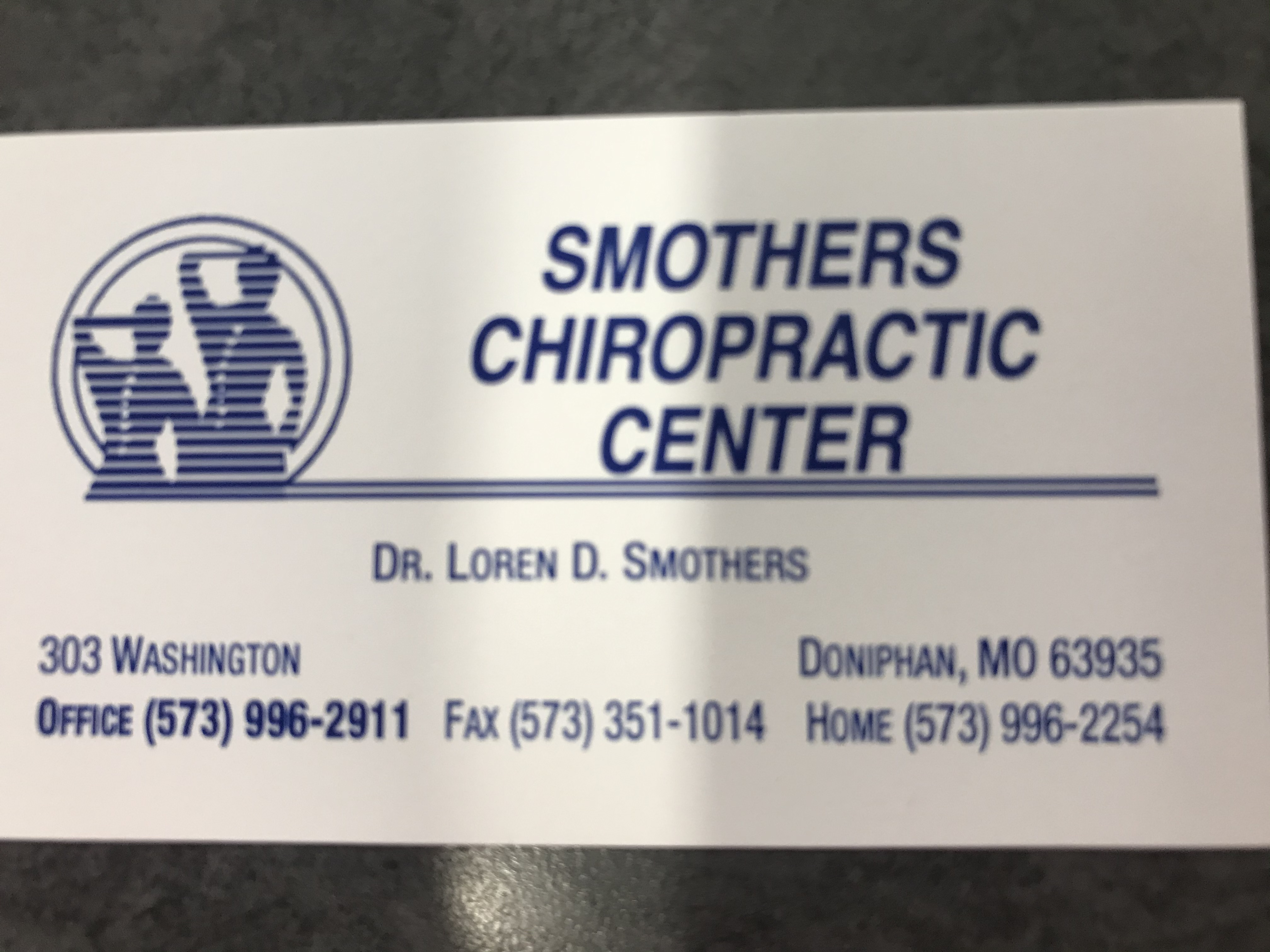 Smothers Chiropractic Center