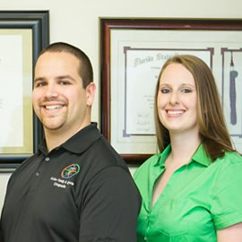 Drs. Jude Miller and Holly Tucker