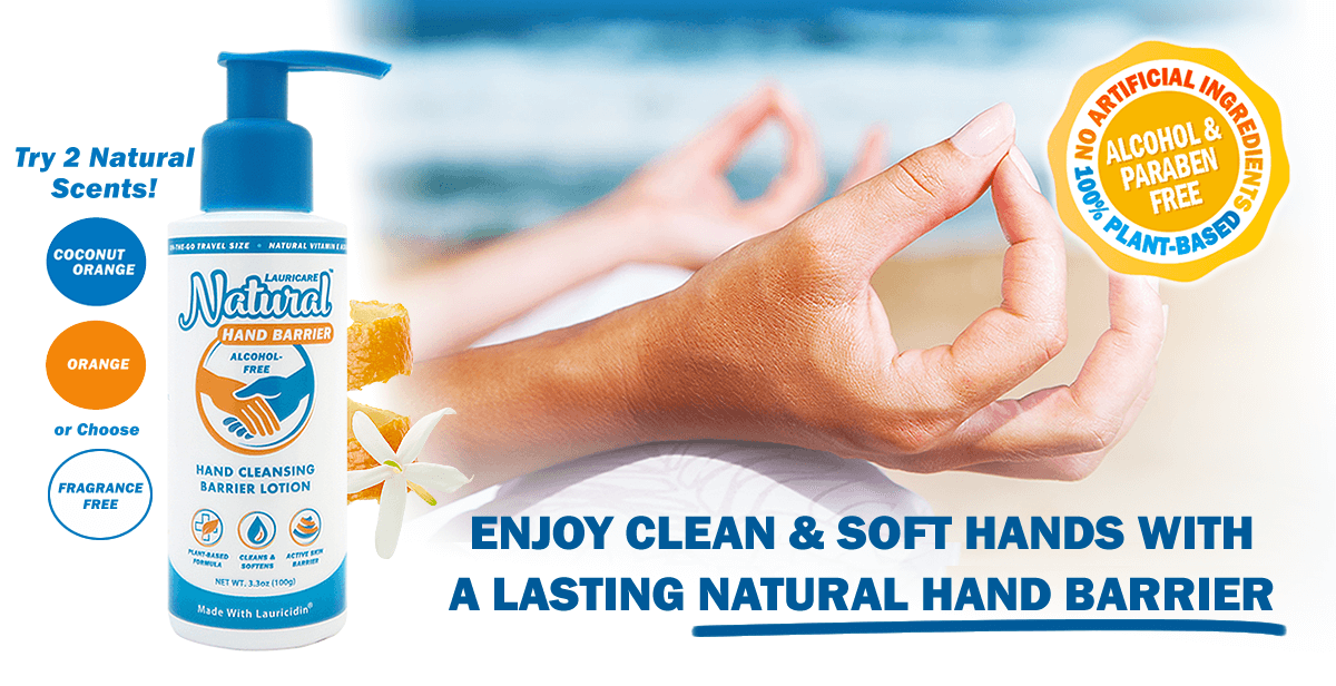 Enjoy clean & soft hands with a lasting natural hand barrier.