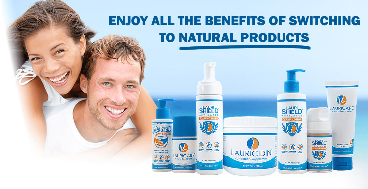 Enjoy the all benefits of switching to Natural Products